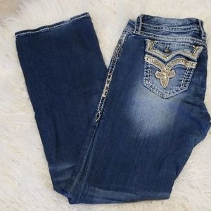 Rock Revival Size 30 Easy Boot Jeans
